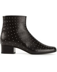 Saint Laurent Babies Ankle Boots - Lyst