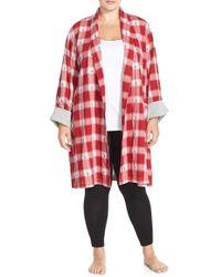 Lucky Brand Flannel Robe