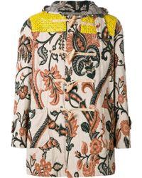 Vivienne Westwood Gold Label | Jacquard Duffle Coat | Lyst