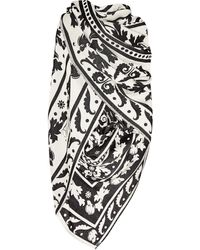 Temperley London Isodora Wool and Silkblend Shawl - Lyst