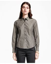 Brooks Brothers   Fitted Striped Non-iron Dress Shirt   Lyst