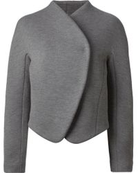 Proenza Schouler Structured Wrap-Front Jacket - Lyst