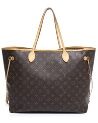 Louis Vuitton | Pre-owned Monogram Canvas Neverfull Gm Bag | Lyst