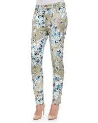 Jen7 English Blossom Skinny Jeans - Lyst