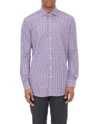 Etro Stripe Dress Shirt - Lyst
