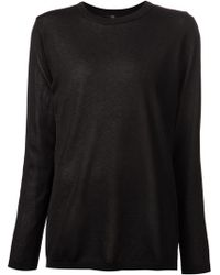 Tibi Basic Sweater - Lyst