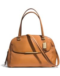Coach Madison Georgie in Leather - Lyst