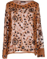 Antik Batik Blouse brown - Lyst