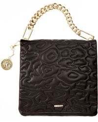 DKNY Gansevoort Animal Quilted Shoulder Bag - Lyst