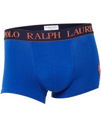 Polo Ralph Lauren Logo Orange Waistband - Lyst