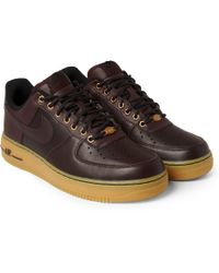 Nike Air Force 1 Leather Sneakers - Lyst