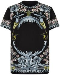 Givenchy - Map & Cobra Graphic-print Short-sleeve T-shirt - Lyst