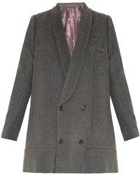 Undercover - Wool-Blend Swing Coat - Lyst
