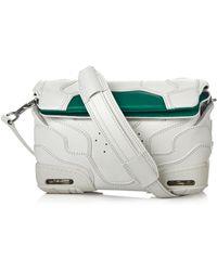 Alexander Wang Sneaker Suede and Mesh Cross-Body Bag - Lyst