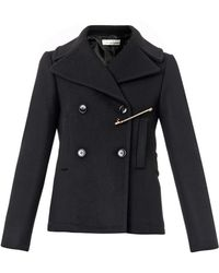 Golden Goose Deluxe Brand Jason Wool-Blend Pea Coat - Lyst