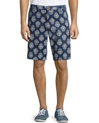 Tailor Vintage Pineapple-print Canvas Twill Walking Shorts - Lyst