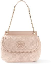 Tory Burch Quilted Shoulder Bag - Lyst