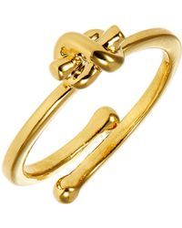 Kate Spade Knot Adjustable Ring - Lyst