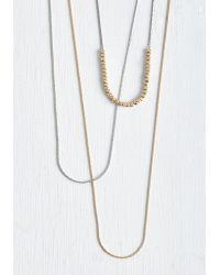 Ana Accessories Inc - Shine Is On My Side Necklace - Lyst