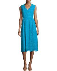 Shoshanna Cindy Lace Dress - Lyst