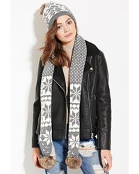 Forever 21 - Scarf And Beanie Set - Lyst