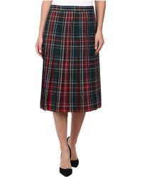 Pendleton Reversible Skirt - Lyst