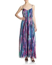 5/48 Printed Maxi Dress - Lyst