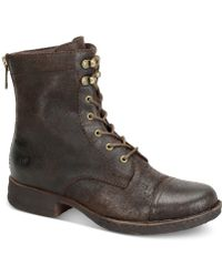 Born - Kelisa Lace-up Boots - Lyst