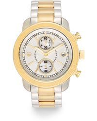 Andrew Marc - Two-Tone Boyfriend Chronograph Watch - Lyst
