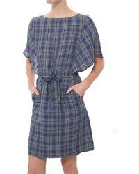 A.P.C. Kentucky Dress blue - Lyst