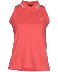 Fred Perry Polo Shirt pink - Lyst