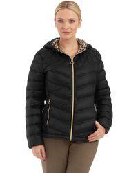 Michael Kors Packable Hooded Jacket - Lyst