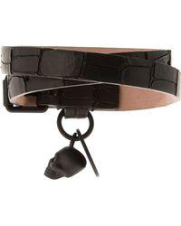 Alexander McQueen | Wraparound Leather Bracelet | Lyst