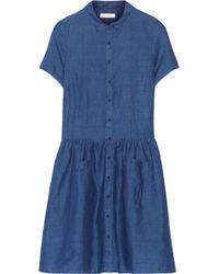 Chinti And Parker Schoolgirl Linen and Cottonblend Chambray Dress - Lyst