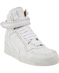 Givenchy - Tyson Whipstitched Hightop Trainers - Lyst