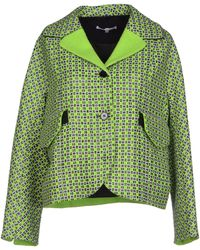 Carven Checked Cotton-blend Tweed Jacket - Lyst