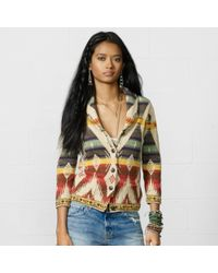 Denim & Supply Multicolored Shawl Cardigan - Lyst