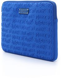 "Marc By Marc Jacobs Adults Suck Neoprene 13"" Computer Case - Salton Sea blue - Lyst"