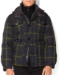 Ralph Lauren Polo Colebrook Tartan Down Jacket - Lyst