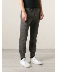 Diesel Knitted Track Pants - Lyst