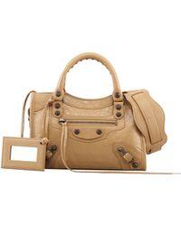 Balenciaga Classic Mini City Bag - Lyst
