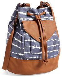 Volcom | Sunday Funday Tie-Dyed Bucket Bag | Lyst
