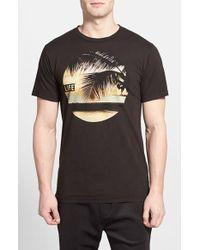 Altru Life Palm Dusk Graphic T-Shirt - Lyst