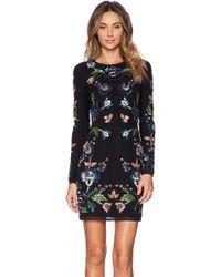 Needle & Thread Multicolor Floral Dress - Lyst