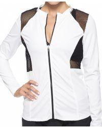 Oakley - Sport Mesh Zip Front Jacket - Lyst