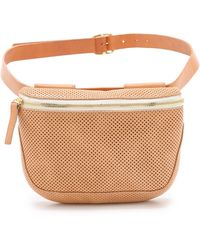 Clare V. - Supreme Fanny Pack - Natural Perf - Lyst
