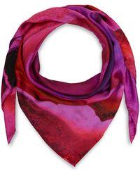 Weston | Pink Agate Silk Scarf | Lyst