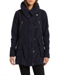 Burberry Brit Rainwear Jacket - Lyst