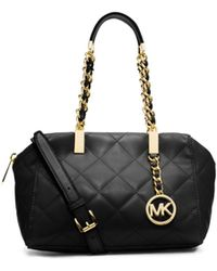 Michael Kors Susannah Quilted Small Satchel - Lyst