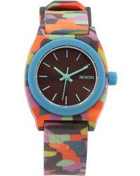 Nixon - Small Time Teller Watch - Lyst